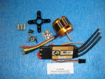 "D-Power AL3530-8 Set incl. Regler ""Comet"" 40A"
